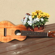 Kamaka Ukulele HF-2 Concert with Pickup